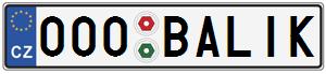 SPZ 000 BALIK