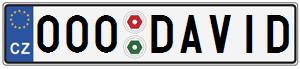 SPZ 000 DAVID